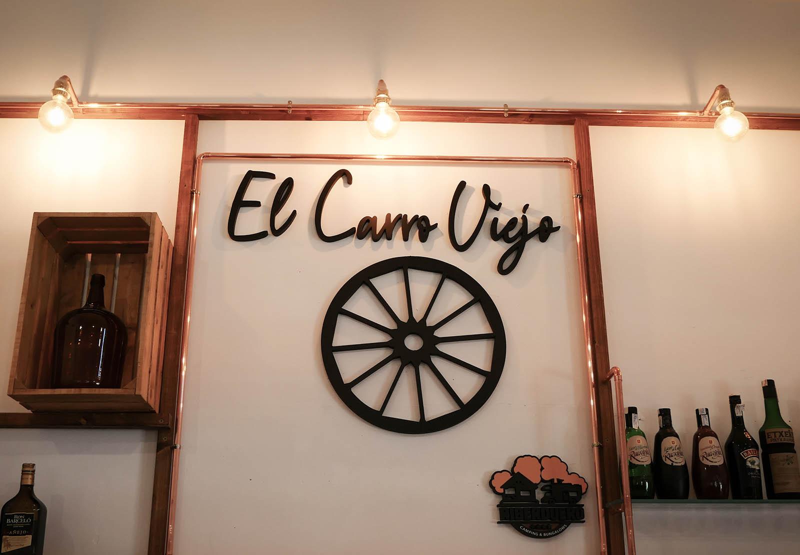 Restaurante, camping, peñafiel, valladolid, carro viejo