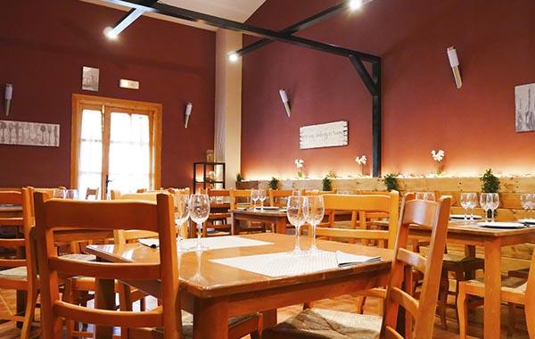 instalaciones, restaurante, camping peñafiel, camping en valladolid, camping en ribera del duero, restaurante moderno, menu degustacion